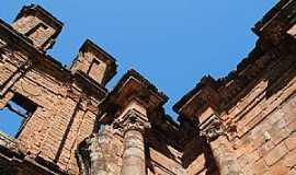 São Miguel das Missões - São Miguel das Missões-RS-Arquitetura Histórica tombada pela UNESCO-Foto:Zelia Waltrick