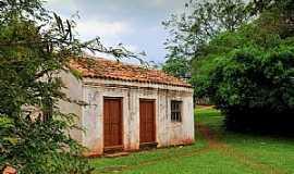 São Miguel das Missões - São Miguel das Missões-RS-Casa de passagem dos Índios Guaranis-Foto:Germano Schüür
