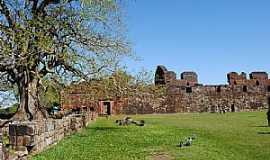 São Miguel das Missões - São Miguel das Missões-RS-Ruinas da Antiga Catedral de São Miguel Arcanjo-Foto:Zelia Waltrick