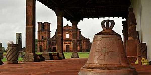 São Miguel das Missões-RS-Ruinas Jesuítas-Foto:www.guiacuca.com.br