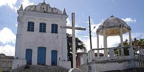 Maragogipinho-BA-Coreto e Matriz de N.Sra.da Conceição-Foto:Zeolithe