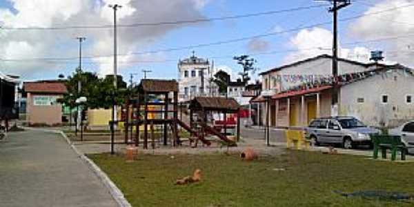 Maragogipinho-BA-Pracinha no centro-Foto:Andre L. S. Lacerda
