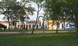 São Pedro do Sul - Vista dos casarões em estilo português