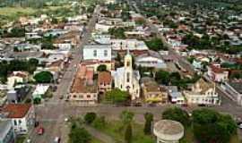 São Pedro do Sul - vista da cidade  - Foto Julio Salles
