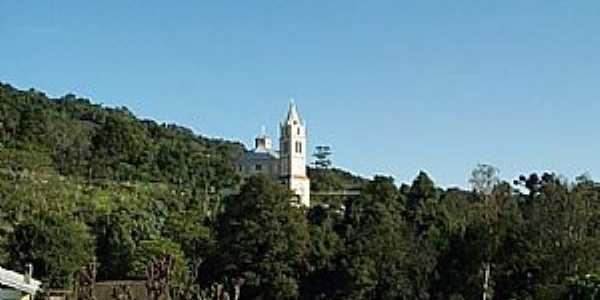 São Roque-RS-Vista da Igreja e região-Foto:www.terragaucha.com.br
