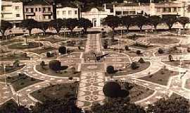 São Sepé - São Sepé-RS-Imagem antiga da Praça das Mercês-Foto:Nilson Monteiro