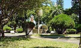 São Sepé - São Sepé-RS-Imagem atual da Praça das Mercês-Foto:Nilson Monteiro