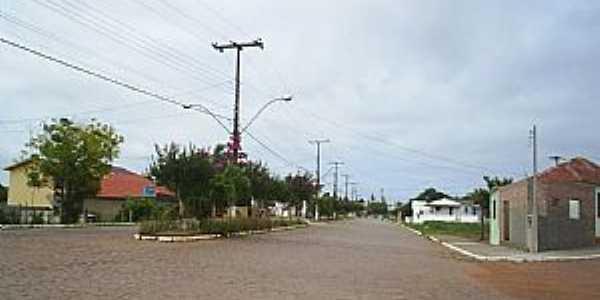São Sepé-RS-Avenida Eugênio Simões-Foto:dilmarlima