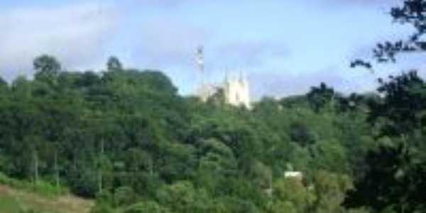 Vista da Igreja da cidade, Por Luciana Anast. Camapuã