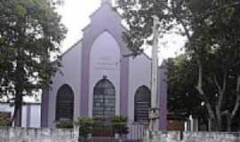 São Vicente do Sul - Igreja de Confissão Luterana em São Vicente do Sul-RS-Foto:PRSADI DA FONTOURA POR…