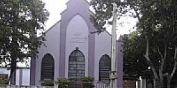 Igreja de Confiss�o Luterana em S�o Vicente do Sul-RS-Foto:PRSADI DA FONTOURA POR�