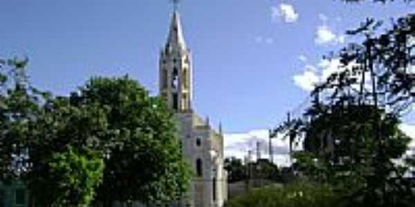Pra�a e Igreja de S�o Vicente do Sul-RS-Foto:PRSADI DA FONTOURA POR�