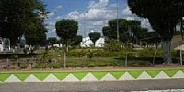 Praça da Igreja Matriz de Marcionílio Souza-Foto:goissousa