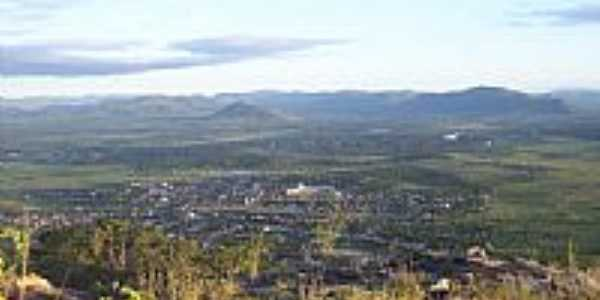 Vista da cidade e região de Marcionílio Souza à partir do Morro Santa Cruz-Foto:goissousa