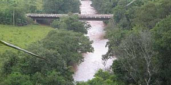Seberi-RS-Ponte sobre o Rio Fortaleza-Foto:Felipe Stefaniack