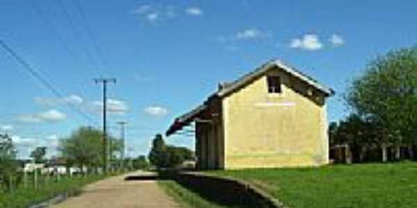 Antiga Estação Férrea de Seival-Foto:Mlopes75