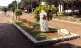 Selbach - floreiras na Rua João XXIII, Por Sady Afonso Junges