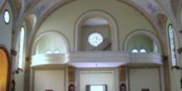 Vista interior Igreja Severiano, Por Verena Busatto