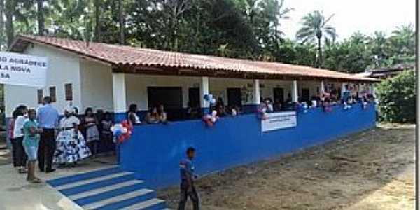 Maricoabo-BA-Inauguração da Escola-Foto:pelegrini.org