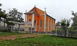 Tapes - Tapes-RS-Igreja Evangélica de confissão Luterana na Comunidade São Mateus-Foto:Ubirajara Buddin Cruz