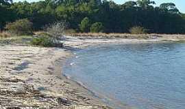 Tapes - Tapes-RS-Praia deserta na Lagoa dos Patos-Foto:eco.patas
