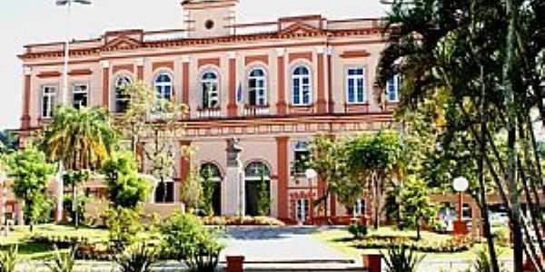 Palácio Municipal Coronel Diniz Martins Rangel - Prefeitura de Taquara - Foto Magda Rabie