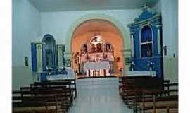 Massacara - Interior da Igreja da Santíssima Trindade de Massacara-Foto:museudocumbe.