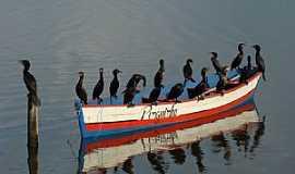 Tramandaí - Tramandaí-RS-Barco lotado-Foto:PCRAPAKI