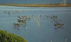 Tramanda� - Tramanda�-RS-Lagoa do Armazem(Temporada de pesca do camar�o)-Foto:PCRAPAKI