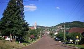 Três Arroios - Rua Principal de Três Arroios-RS-Foto:eltonstrada