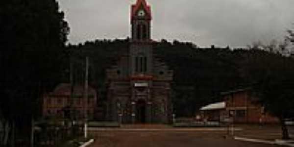 Igreja de Santa Isabel da Hungria em Três Arroios-RS-Foto:eltonstrada