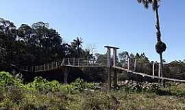 Três Cachoeiras - Três Cachoeiras-RS-Ponte Pênsil-Foto:Ubirajara Cruz