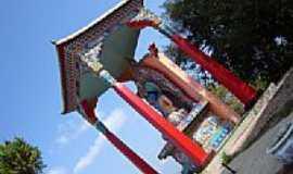 Três Coroas - Templo Budista-Foto:Cleber Lima