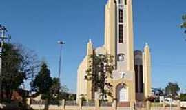 Três de Maio - Igreja Evangélica-Foto:Moacir Antonio Dal Berto
