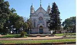 Tr�s de Maio - Tr�s de Maio-RS-Igreja Matriz-Foto:Moacir Antonio Dal B�
