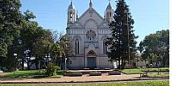 Três de Maio-RS-Igreja Matriz-Foto:Moacir Antonio Dal B…