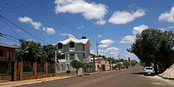 Três de Maio-RS-Rua Horizontina-Foto:Facebook