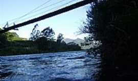 Três Forquilhas - Três Forquilhas-RS-Ponte sobre Arroio-Foto:Lourival Francisco