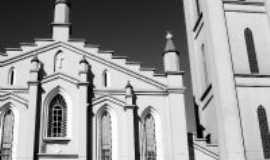 Três Passos - Igreja da Matriz em P/B, Por Marcelo Neckel