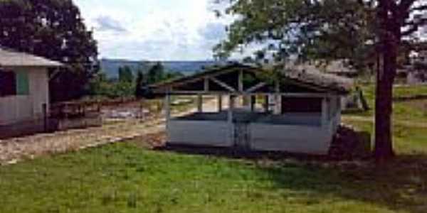 Vista parcial das Instalações da Granja do IFRS-Foto:Eduardo Pinheiro de …