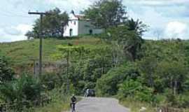 Mata de São João - Mata de São João-BA-Antiga Igrejinha Barroca no alto da Colina-Foto:Carlos H. Silva de S…