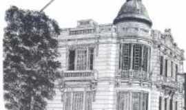 Uruguaiana - Centro Cultural Dr Pedro Marini (desenho), Por CARLOS FONTTES - ESCRITOR/HISTORIADOR