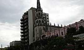 Uruguaiana - Igreja de N.Sra.do Carmo em Uruguaiana-Foto:Fritz Follmer