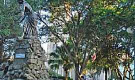 Uruguaiana - Praça Barão do Rio Branco-por Flávio de Lima