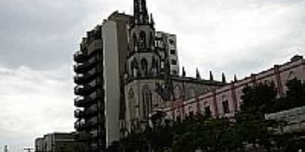 Igreja de N.Sra.do Carmo em Uruguaiana-Foto:Fritz Follmer