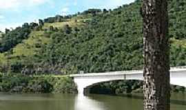 Vacaria - Ponte na Rodovia 116,divisa entre RS/SC em Vacaria-Foto:Silverio Luiz Soligo