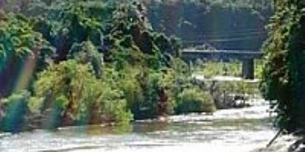 Ponte sobre o Rio Caí-Foto:Jakza