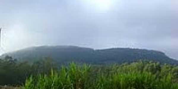 Vista do Cerro do Chileno-Vale Verde-RS-Foto:Felipe D. D. Oliveir…
