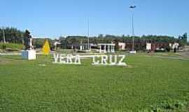 Vera Cruz - Trevo de acesso à cidade de Vera Cruz-Foto:tiagoff