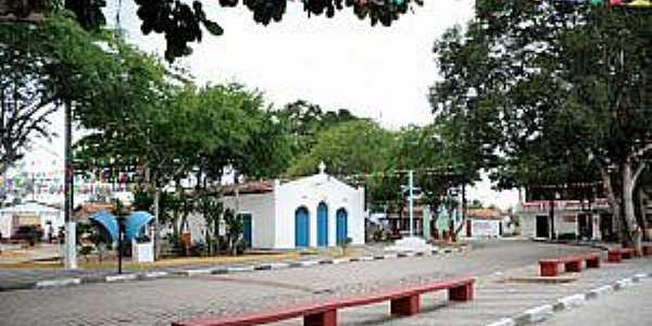 Matinha-BA-Praça e Igreja de Matinha-Foto:Secom